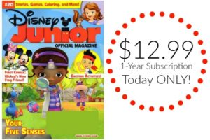 Disney Junior Magazine Just $12.99 per Year!