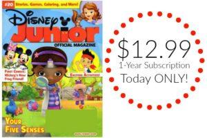 Disney Junior Magazine Just $12.99 per Year!