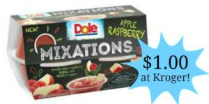 Kroger: Dole Mixations Only $1.00!