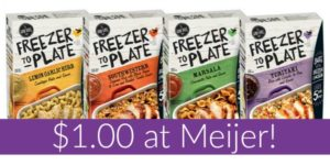Meijer: The Good Table Freezer to Plate Entrees Only $1.00!