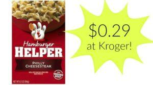 Kroger: Betty Crocker Helper Meals Only $0.29!