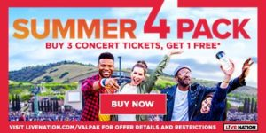 B3G1 FREE Concert Tickets + Enter to Win Concert Cash from ValPak!
