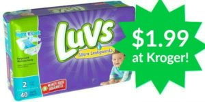 Kroger: Luvs Diapers Only $1.99!
