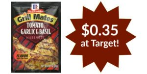 Target: McCormick Grill Mates Marinades Only $0.35!