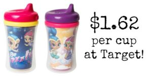 Target: Nuk Sippy Cups Only $1.62 Each!