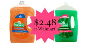 Walmart: Palmolive Dish Soap 68.5 oz as low as $2.48!
