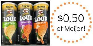 Meijer: Pringles Loud Only $0.50!