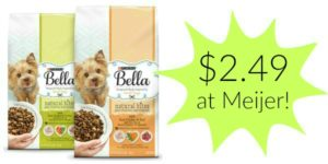 Meijer: Bella Dry Dog Food Only $2.49!