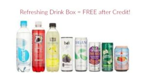 FREE Refreshing Drink Sample Box after Amazon Credit!