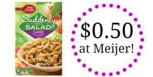 Meijer: Suddenly Salad Only $0.50!