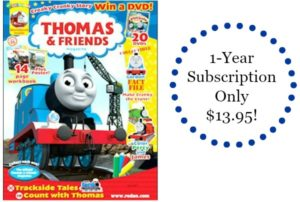 Thomas and Friends Magazine Only $13.95! (cover price $39.92)