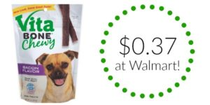 Walmart: Vita Bone Dog Treats and Biscuits as low as $0.37!