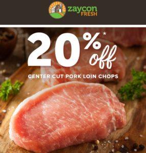 Boneless Pork Loin Chops Only $2.35/lb!