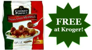 FREE Cooked Perfect Meatballs at Kroger!