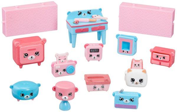 Happy Places Shopkins Decorator Pack Dreamy Bear Set