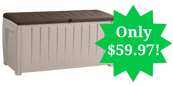 Deck Storage Container Box 90 Gallon Only $59.97! - Become ...