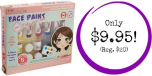 Kiss Naturals DIY Face Paint Making Kit Only $9.95 (Reg. $20)!