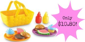 Learning Resources Picnic Set Only $10.80!