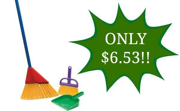 Little Helper Broom Set Only 6 53