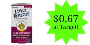 Target: Little Remedies for Noses Only $0.67!