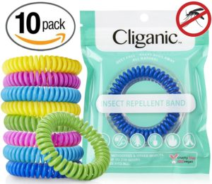 Pack of 10 Mosquito Repellent Bracelets Only $9.99! Best Price!