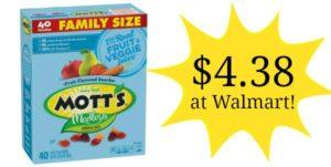 Walmart: Mott's Medley's Fruit Snacks 40ct Only $4.38!