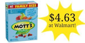 Walmart: Mott's Medley's Fruit Snacks 40ct Only $4.63!