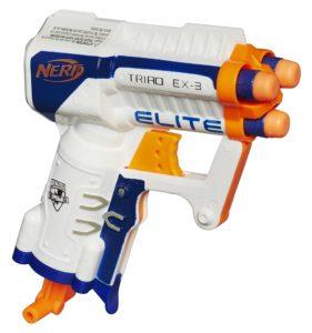 Nerf N-Strike Elite Triad EX-3 Blaster Only $3.49!