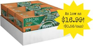 Perrier Sparkling Natural Mineral Water in Lemon Orange 30-Count as low as $16.99 ($0.56/Can)!