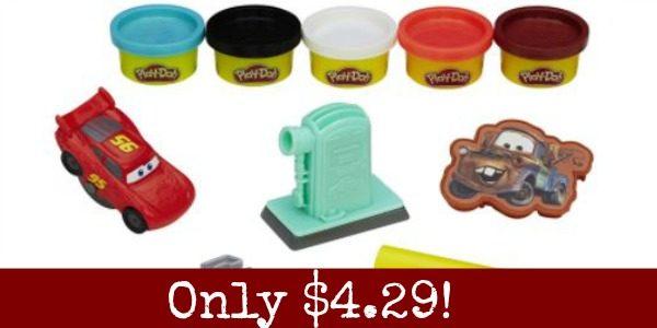 Play-Doh Cars Playset