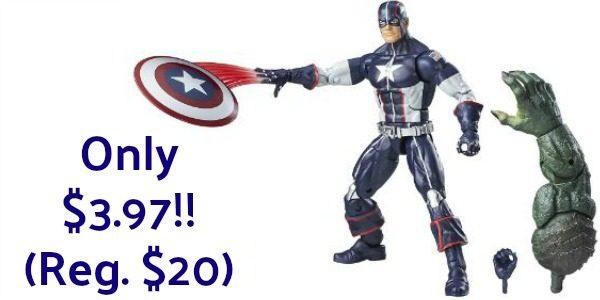 Secret War Captain America 6-Inch Legends Series Figure