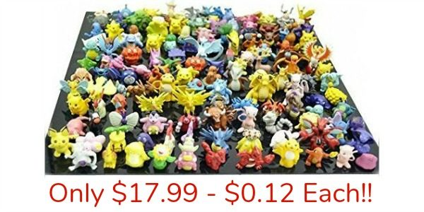 Set of 144 Pokemon Action Figures