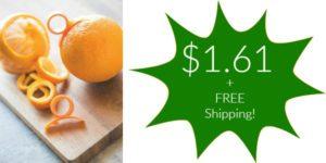 Set of 2 Orange Peelers Only $1.61 + FREE Shipping!