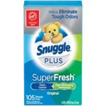 Snuggle Plus Super Fresh Fabric Softener Dryer Sheets as low as $3.37!