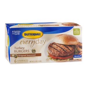 Walmart: Butterball Frozen Turkey Burgers Only $4.14!