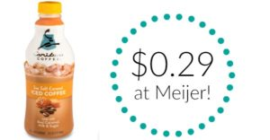 Meijer: Caribou Iced Coffee Only $0.29!
