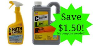 Save $1.50 on CLR Products! No Coupons Needed!