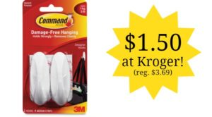 Kroger: Command Hooks Only $1.50! (reg. $3.69)