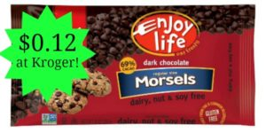Kroger: Enjoy Life Morsels Only $0.12!