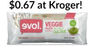 Kroger: Evol Burritos Only $0.67!