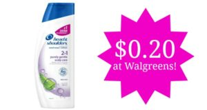 Walgreens: Head & Shoulders Shampoo and Conditioner Only $0.20!!