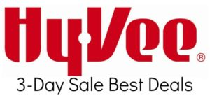 Hy-Vee 3-Day Sale – December 7 – 9