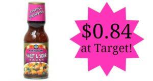 Target: Kikkoman Cooking Sauces Only $0.84!