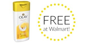 FREE Olay Body Wash at Walmart!