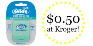 Kroger: Oral-B Glide Floss and Flossers Only $0.50!