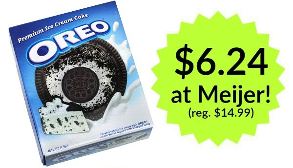Oreo Ice Cream Cake Meijer