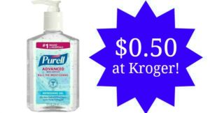 Kroger: Purell Hand Sanitizer Only $0.50!
