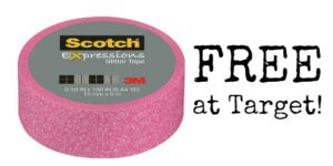 FREE Scotch Brand Expressions Tape at Target!