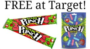 Sour Punch Candy as low as FREE at Target!
