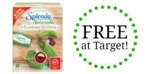 FREE Splenda Naturals Sweetener at Target!